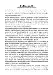 Die Bienenzucht - Bienenzuchtverein Sulzbach-Rosenberg 1871