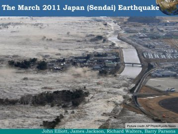 Review of the Japan disaster 2011 - Hazards Forum