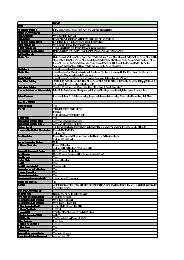 PIXMA MX310_Specificaties - Canon