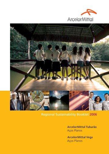 Regional Sustainability Booklet 2006 - ArcelorMittal Tubarão