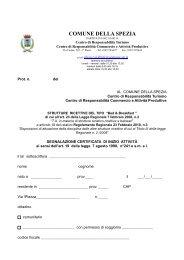 Modulo Segnalazione Certificata Inizio Attività... - Turismo Cultura ...