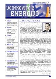 Bilten Učinkovito z energijo - Ministrstvo za gospodarski razvoj in ...