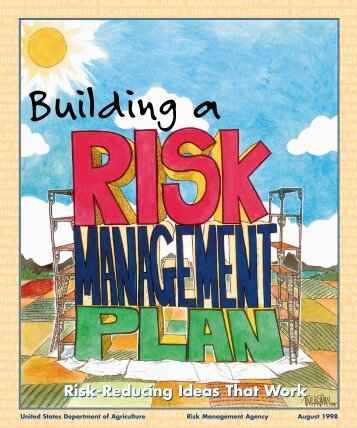 Building a Risk Management Plan - Agricultural Marketing