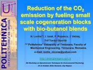 Reduction of the CO2 emission by fueling small scale cogeneration ...