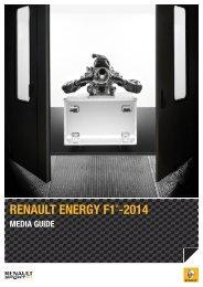 RENAULT ENERGY F1 -2014