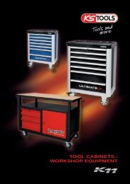 TOOL CABINETS / WORKSHOP EQUIPMENT