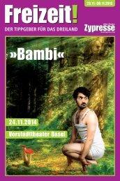 Vorstadttheater Basel 24.11.2014 - Zypresse