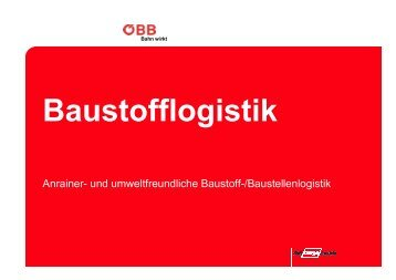 Baustofflogistik - rumba