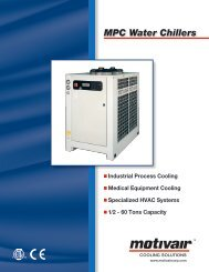 MPC Water Chillers - 1/2 - Torrent Engineering & Equipment