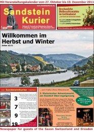 Willkommen im Herbst und Winter - Pirna