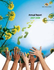 Annual Report - 2007-08 - GAIL (India)