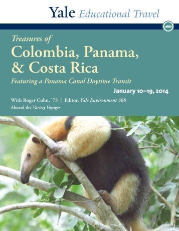 Colombia, Panama, & Costa Rica