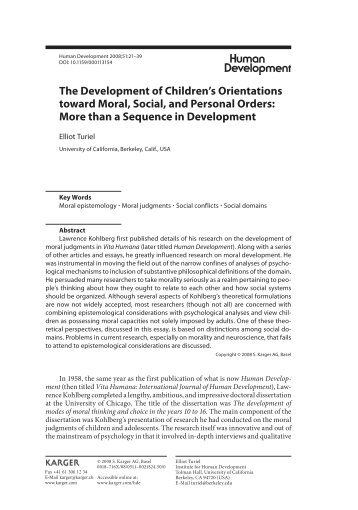 theories of moral development review sheet fuse net the development of children s orientations toward moral social