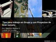 Tips para trabajo en Grupo y con Proyectos de Gran tamaño