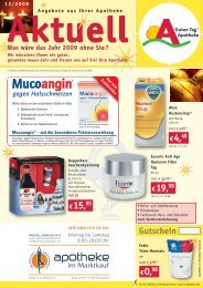 10% - Apotheke Augsburg Göggingen