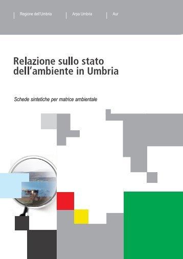 Schede sintetiche per matrice ambientale - ARPA Umbria