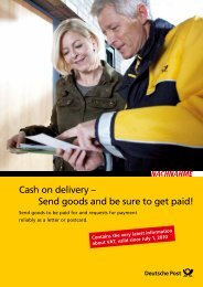 Cash on delivery – Send goods and be sure to get paid!