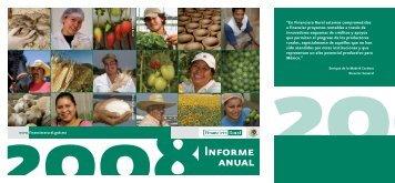 Informe Anual 2008 - Financiera Rural