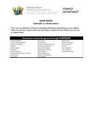 SubFinder vs. IV Attendance Entry Lists - Greeley Schools