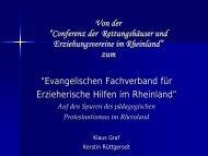 Auf den Spuren des pädagogischen Protestantismus im Rheinland