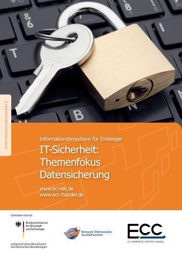 IT-Sicherheit: Themenfokus Datensicherung - ECC Köln