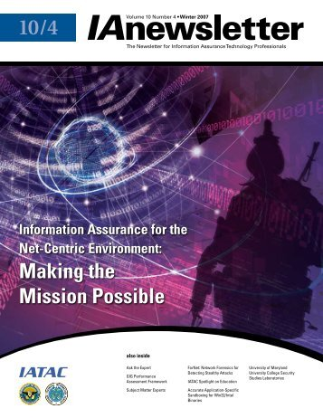 Making the Mission Possible - IAC - Defense Technical Information ...