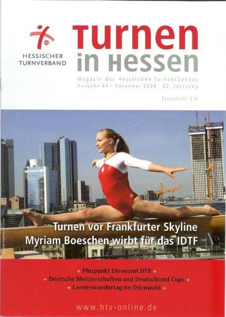Turnen in Hessen, November 08 - Eintracht Frankfurt eV