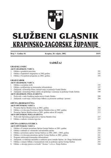 glasnik 22 - Krapinsko-zagorska županija