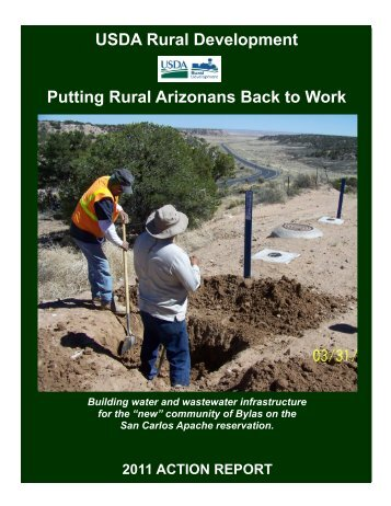 USDA Rural Development Putting Rural Arizonans Back to Work