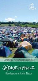 Camping und Wohnmobilstellplätze - Verbandsgemeinde ...