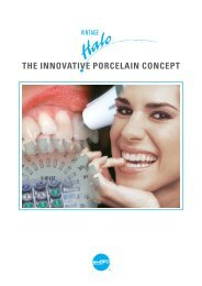 THE INNOVATIVE PORCELAIN CONCEPT - Mikodental