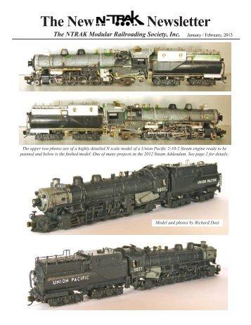 The New Newsletter - NTRAK Modular Railroading Society, Inc.