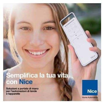 Semplifica la tua vita con Nice