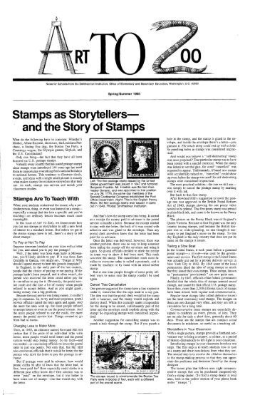and the Story of Stamps - Smithsonian Education