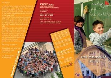 Flyer der Mittelschule als PDF - Rahn Dittrich Group