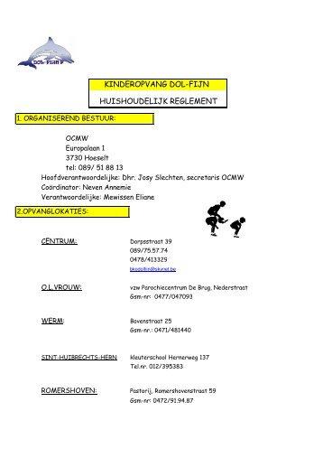 Download huishoudelijk reglement - Hoeselt.Be