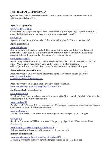 I siti web - Comune di Bologna