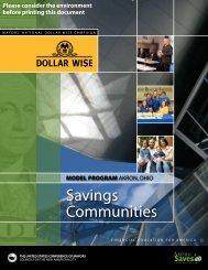 Savings Communities - U.S. Conference of Mayors