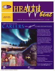 February 2004 Volume 7, Issue 2 - McCrone Healthbeat