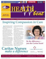 Mar/Apr 2008 Volume 11, Issue 2 - McCrone Healthbeat