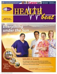 Sept/Oct 2007 Volume 10, Issue 6 - McCrone Healthbeat