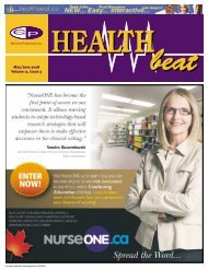 May/June 2008 Volume 11, Issue 3 - McCrone Healthbeat