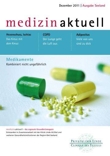 Gesundheitsmagazin Dezember 2011 / PDF, 1.03 MB - Klinik Linde