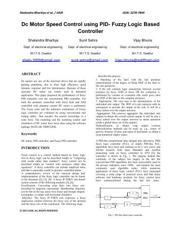fuzzy logic controller thesis Fuzzy logic control for aircraft longitudinal motion  master thesis by my ownself  there have been many successful applications17 fuzzy logic controller.