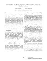 Concentration and Moment Inequalities for Polynomials of ...