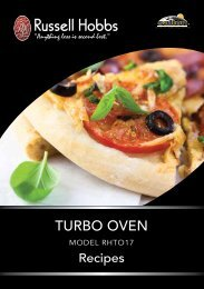 TURBO OVEN - Russell Hobbs