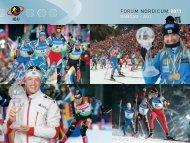 FORUM NORDICUM 2011 - International Biathlon Union