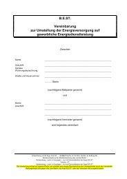 B.E.ST. - Liefervereinbarung Vermieter - Mieter ... - Berliner ImpulsE