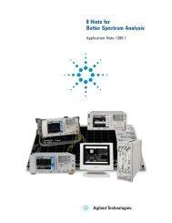8 Hints for Better Spectrum Analysis - Application Note (pdf ... - TEVET