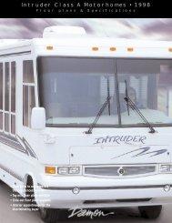 Intruder Class A Motorhomes • 1998 - Rvguidebook.com